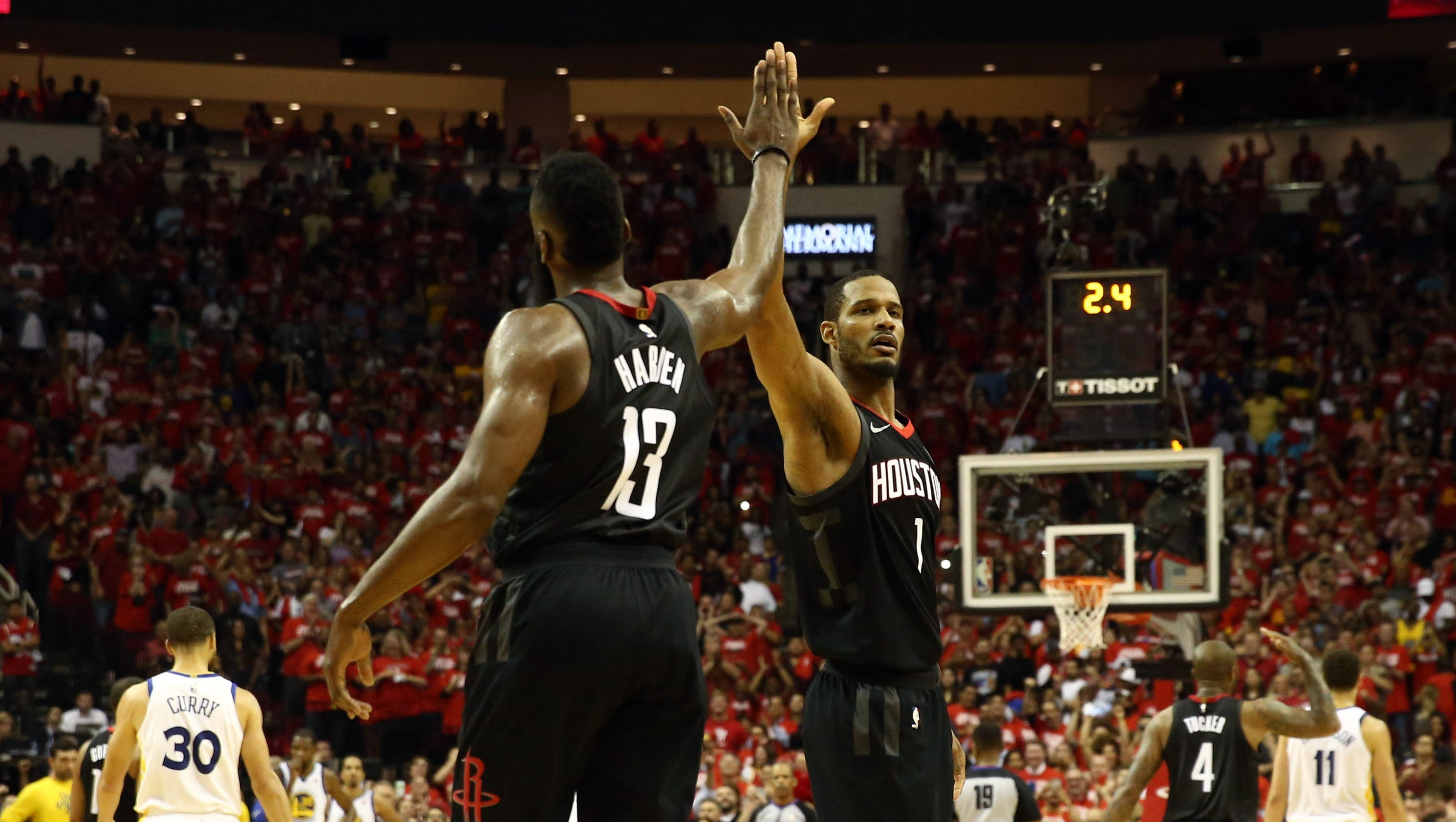 Rockets push Warriors to brink: Must-see moments from Game 5