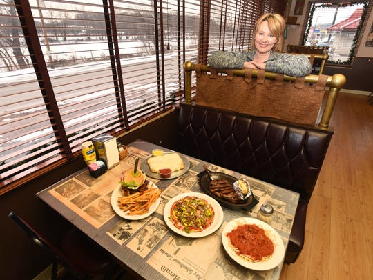 Michelle Greer, owner of Chelo's Pizzeria in McConnelsville,