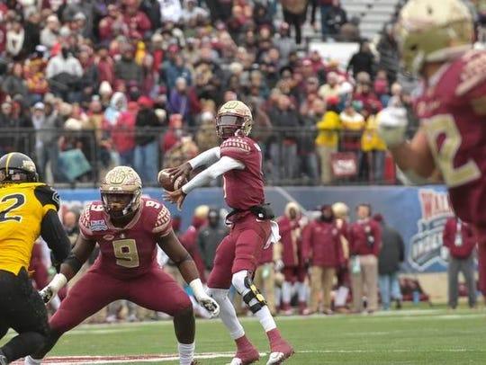 Florida State Seminoles quarterback James Blackman