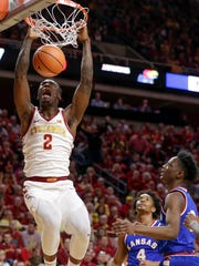 Cameron Lard was promising last season for the Cyclones, but what's most important is that Lard continues to get his life right off the court, Randy Peterson writes.