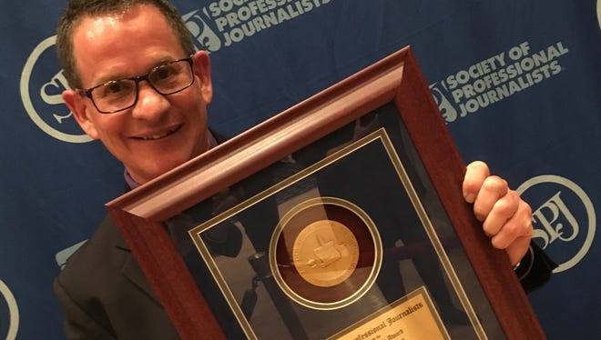 KCLU Radio News Director Lance Orozco received a national award for excellence in journalism on June 23.