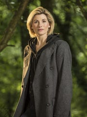 """In a Christmas special, Jodie Whittaker will take over from Peter Capaldi as the Doctor on """"Doctor Who"""" - the first woman to be cast in the iconic role."""