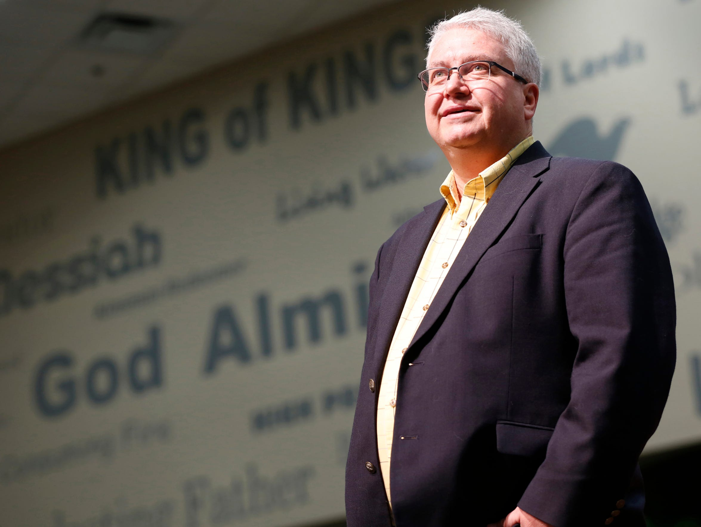 Pastor Todd Ladd of Delphi United Methodist Church