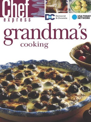 Grandma's Cooking Cookbook cover