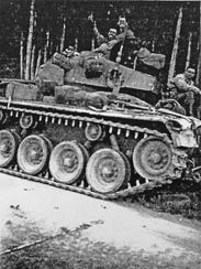 This photo shows Jesse Haro and his tank crew during