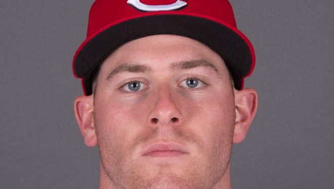 Cincinnati Reds starting pitcher Anthony DeSclafani.