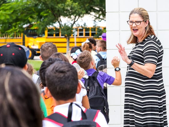 Lisa Murphy is the new principal of Trafalgar Elementary