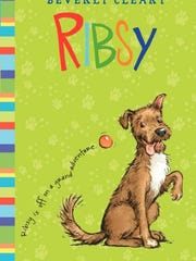 "Book jacket for ""Ribsy"""