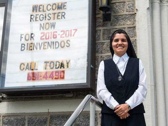 Sister Rosa Maria Ojeda will be the new principal of