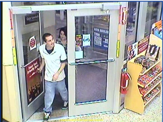 Surveillance photo of suspects entering a Wawa in Brick.