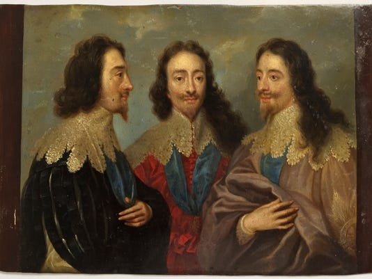 King Charles I in Three Positions Kings