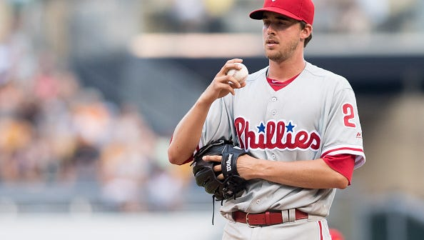 Aaron Nola's season is officially over after being put on the 60-day disabled list Wednesday. The Phillies are optimistic he will be ready for spring training.