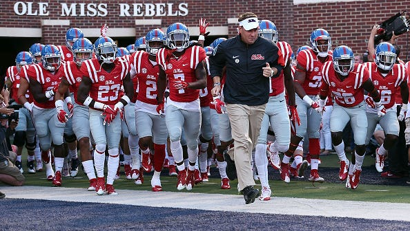 Ole Miss coach Hugh Freeze and his players said they drowned out talk of the current NCAA investigation into their program