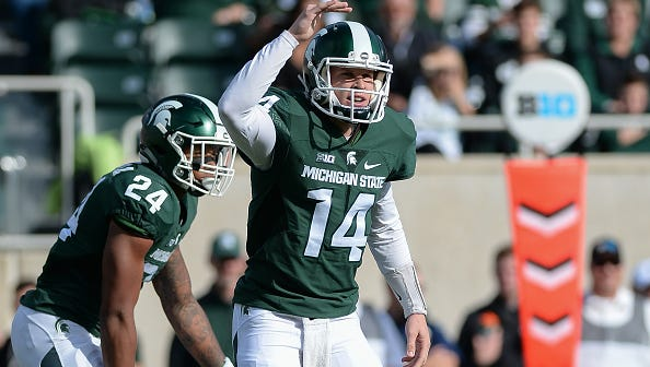 Brian Lewerke begins his first season as MSU's starting quarterback Saturday, Sept. 2, against Bowling Green.
