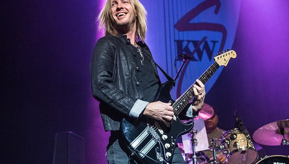 Kenny Wayne Shepherd performs Oct. 28. 2017, in London, England.