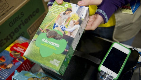 Girl Scout Cookies to go online in some areas