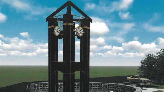Plans are in place for the dedication of a new memorial in Evendale honoring veterans, police and firefighters. The memorial will feature a bell tower and bell by The Verdin Co.