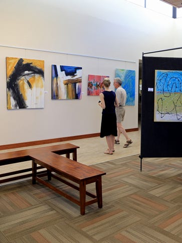 "The Southern Utah Art Guild's ""Only Abstraction"" show"