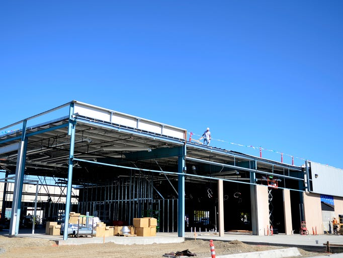Construction Continues On New Lithia Motors Complex On
