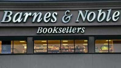 In this Tuesday, Nov. 27, 2012, file photo, the exterior of a Barnes & Noble bookstore is seen in Salem, N.H. Barnes & Noble. Barnes & Noble is going to split its retail and Nook Media businesses into two separate public companies as it looks to boost shareholder value.