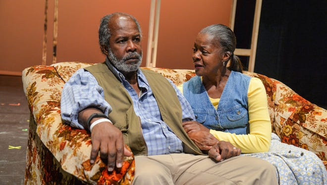 "Clarence Gilyard and Janice Brooks play Norman and Ethel Thayer in the Neil Simon Festival's 2016 production of ""On Golden Pond."""