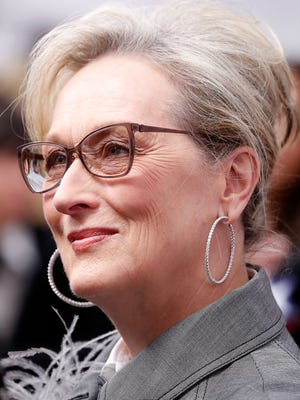 "Meryl Streep attends ""The Post"" Washington, DC premiere on December 14, 2017."