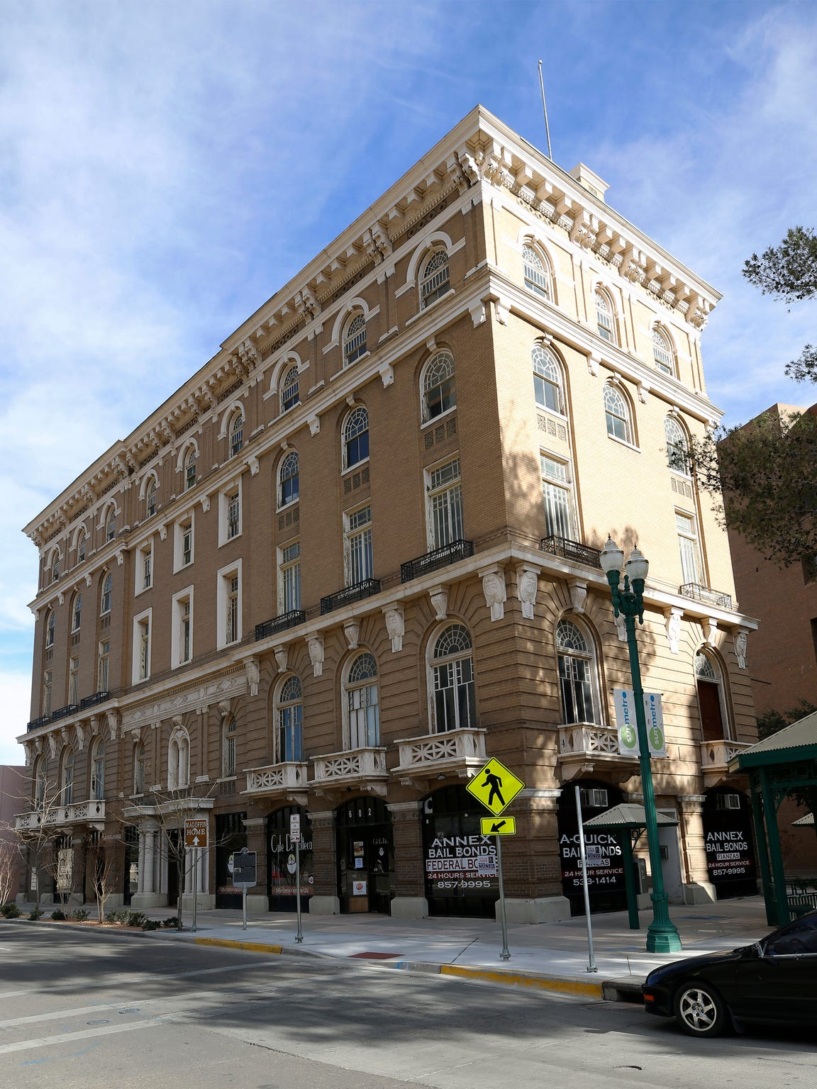 """William """"Billy"""" Abraham reports he received a past sale offer of $5 million for the 107-year-old Toltec Club building at 717 E. San Antonio, according to federal bankruptcy court filings."""