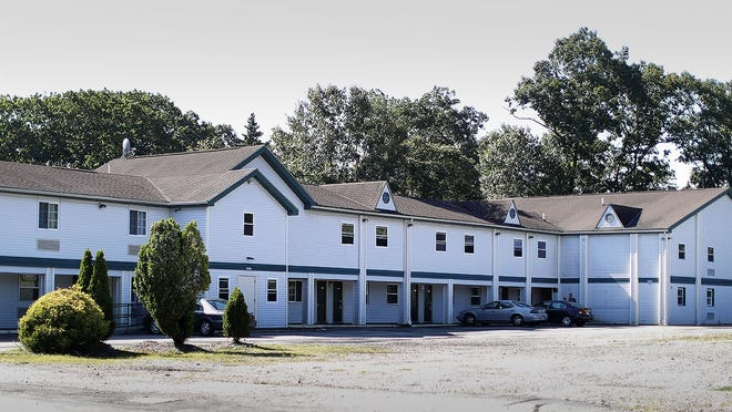 The Boston Motel in Weymouth which is being considered for a homeless shelter run by Fathers Bill´s on Tuesday August 18, 2020 Greg Derr/The Patriot Ledger