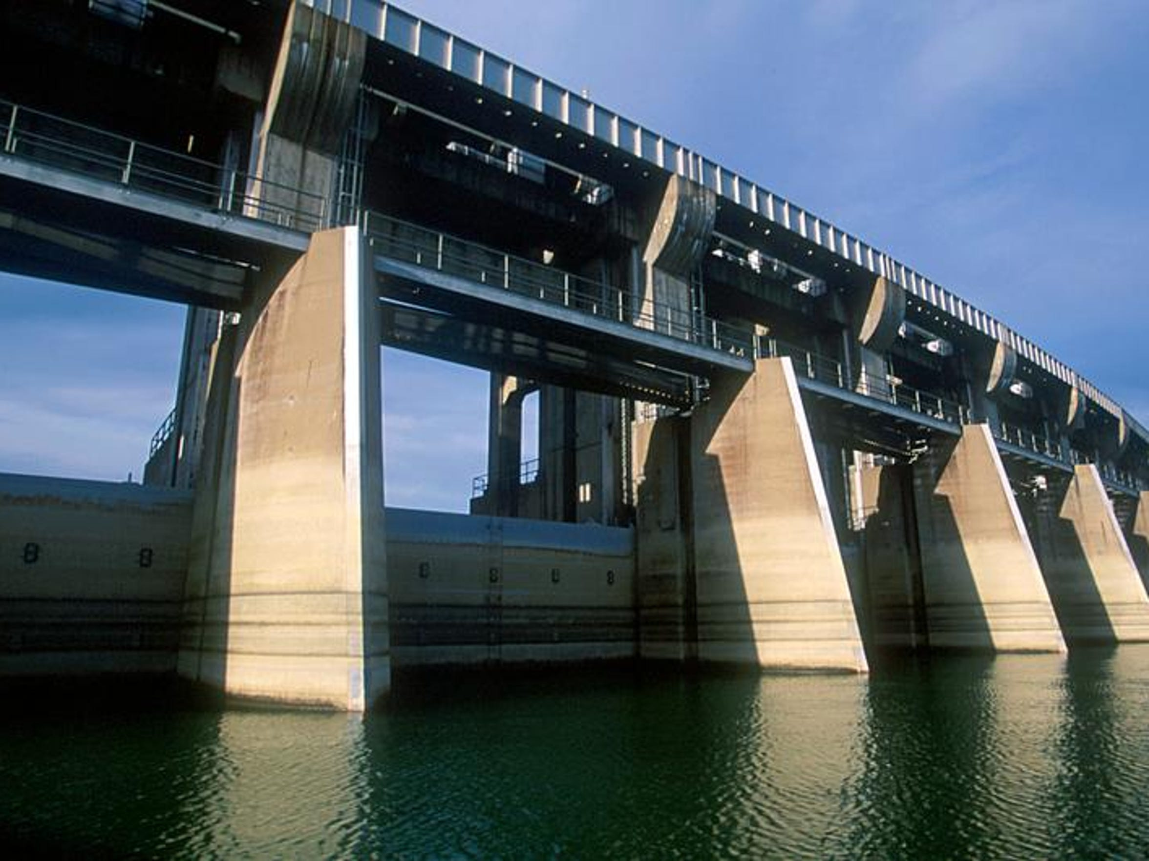 2. Drive over the Fort Peck Dam.