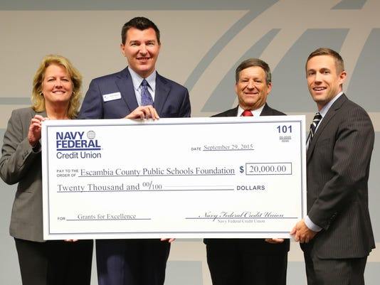 Escambia County Public Schools Foundation Check Presentation_Final