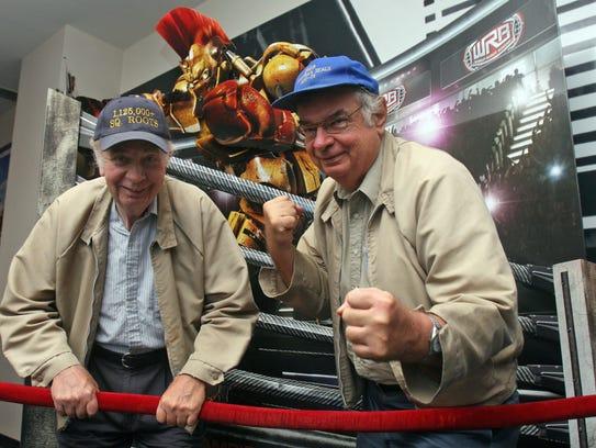 Robert (left) and David Urban of Manville at Reading