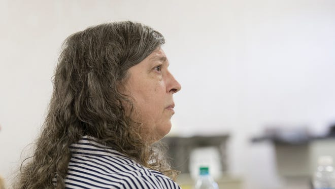 Milton day care provider Thelma Lowery listens to testimony during her trial in the Santa Rosa Courthouse in Milton on Tuesday, Aug. 8, 2017. Lowery faces charges in connection to the death of a 15-month-old in her care.