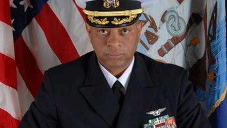 Navy Cmdr. Alphonso Doss was killed in a Florida motel room in February.