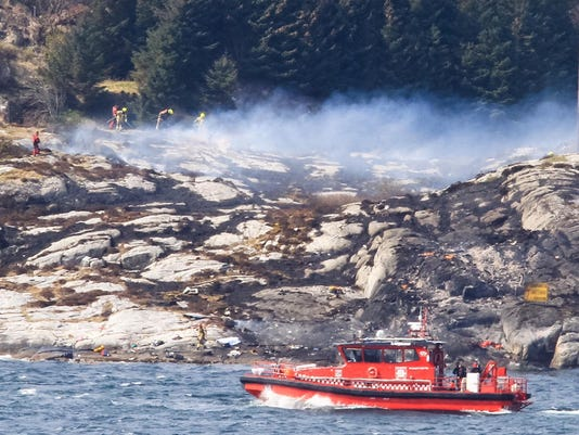Norway Helicopter Crash