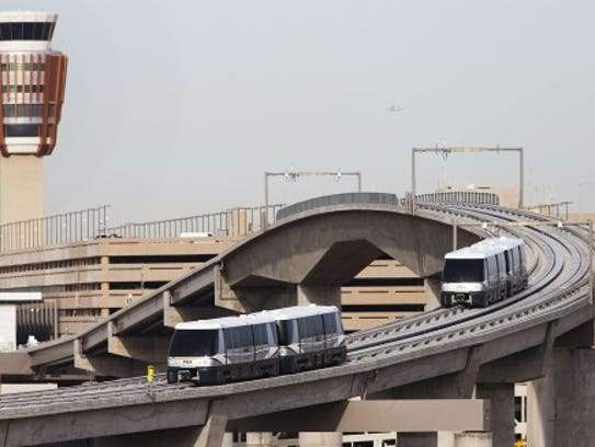 2013: Sky Train debuts- PHX Sky Train opens in April.