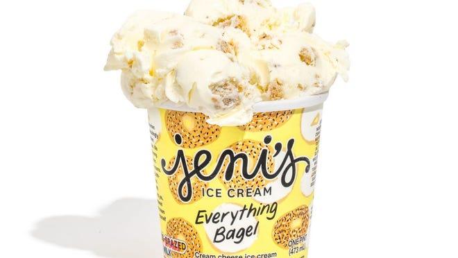 Jeni's Everything Bagel ice cream