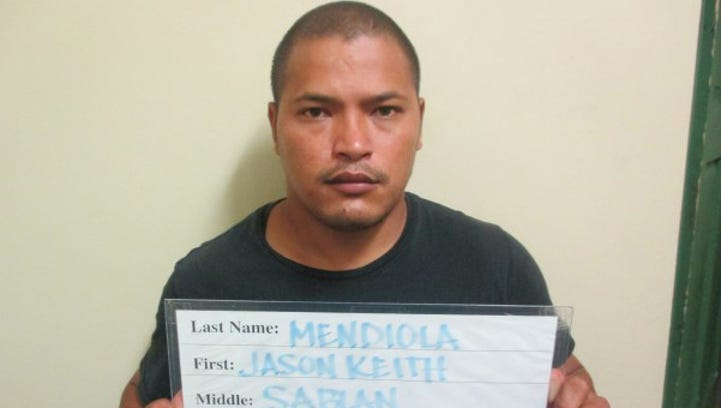 Jason Keith Sablan Mendiola, Guam Police Department
