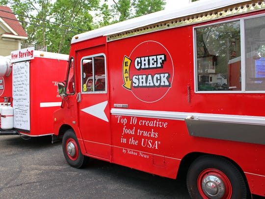 Chef Shack work began 11 years ago with food trucks that still operate during lunchtime and weekend farmers markets in Minneapolis.