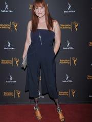 Katy Sullivan arrives at the Dynamic & Diverse Nominee