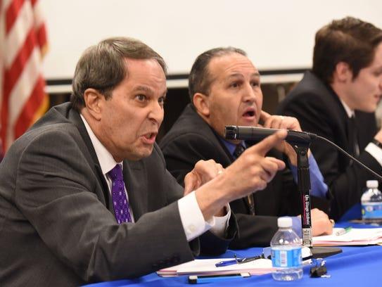 Board Attorney Richard Salkin responds to Mayor John