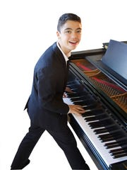 Ethan Bortnick holds the Guinness World Record as the youngest performer to headline his own concert tour. Submitted