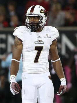 "Lane was a four-year starter for ULM at ""hawk"" safety and a first-team All-Sun Belt selection."