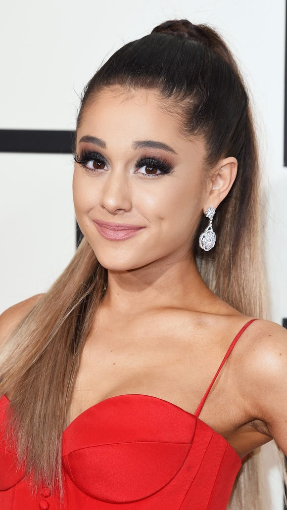 Ariana Grande at the Grammy Awards on Feb. 15, 2016