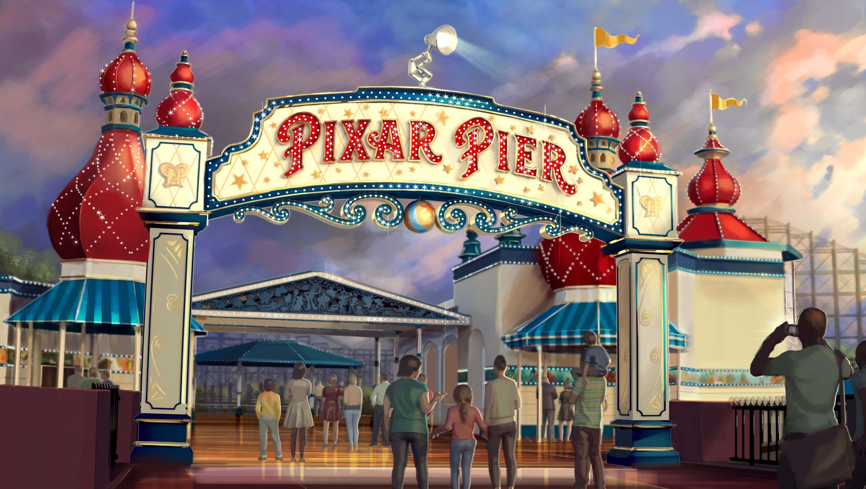 Disney California Adventure Pixar Pier Preview Tickets On