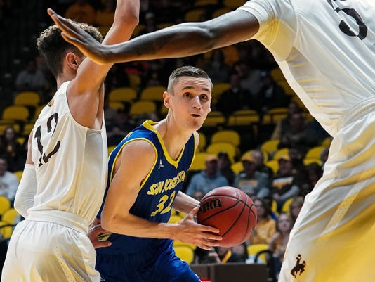 NCAA Basketball: San Jose State at Wyoming