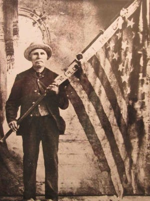 Sgt. Thomas Henry Sheppard of Marlette carried the Union flag at the Battle of Gettysburg.