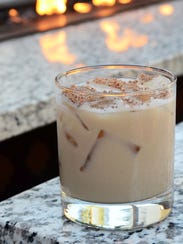 The Brandy Ferdinand is a holiday cocktail served at