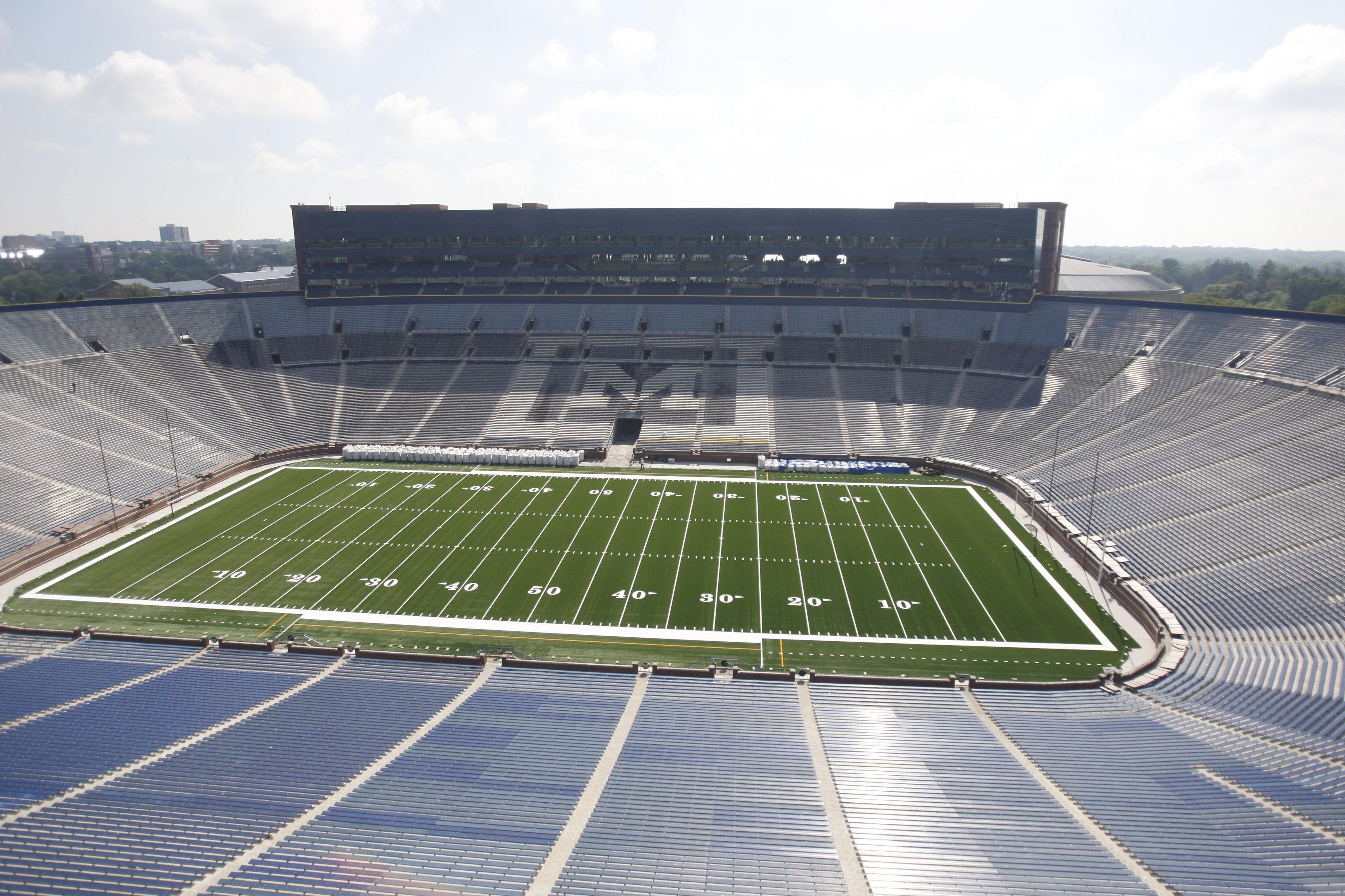 Big house stadium layout
