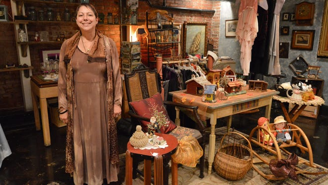 Elizabeth Barrett, owner of Second Street Uniques in Lewes.