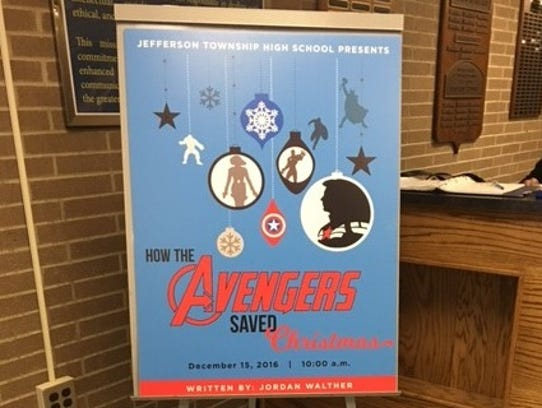 "Jordan Walther's play, ""How the Avengers Saved Christmas"""
